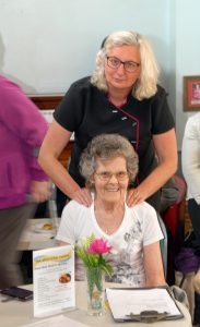 Volunteers of the month Caroline & Beryl