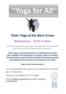 Seated Yoga Poster