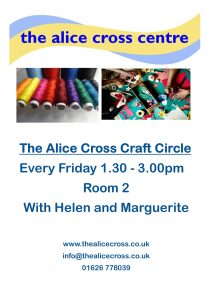 Craft Circle @ Alice Cross Centre | England | United Kingdom