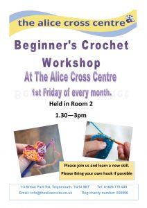 Crochet Club @ Alice Cross Centre | England | United Kingdom