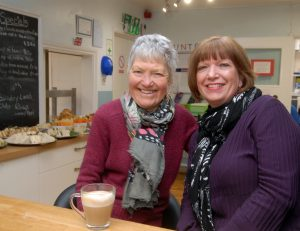 Trustees Pat Henchie and Margaret Cobb