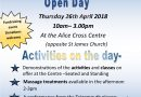 Health and Well-Being Open Day