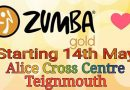 New Zumba Gold Class Starts 14th May