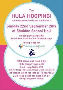 Try Hula Hooping @ Shaldon School Hall