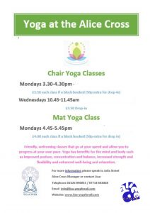 Chair Yoga @ The Alice Cross Centre