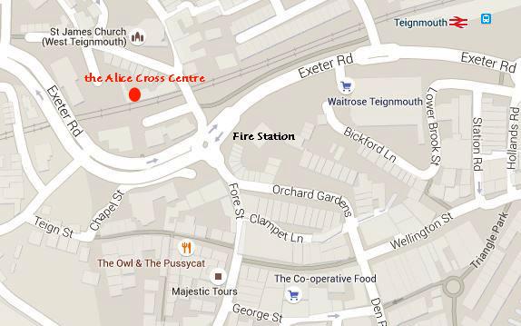 location of alice cross centre