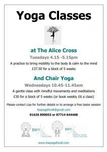 Seated Gentle Yoga @ Alice Cross Centre | England | United Kingdom